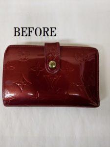 Louis Vuitton(ルイヴィトン)ヴェルニ 二つ折り財布 カラーチェンジ