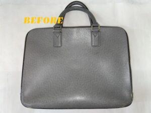 カバン修理 Louis Vuittonルイヴィトン ビジネスバッグの染め直し
